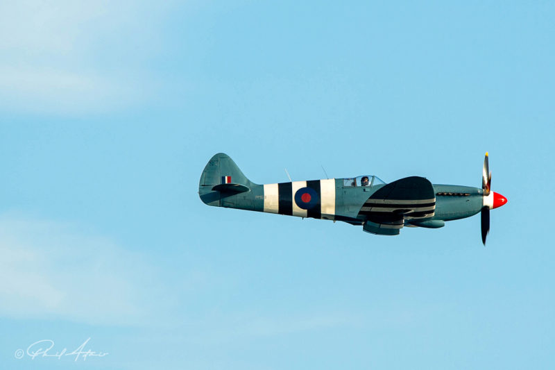 Reconnaissance Spitfire in D-day livery